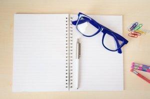 Empty notebook </p srcset=